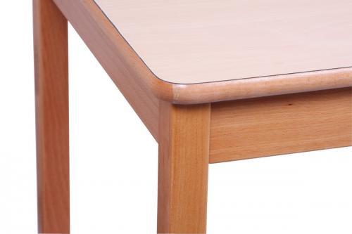 table rectangulaire pour enfants en bois massif objectif d. Black Bedroom Furniture Sets. Home Design Ideas